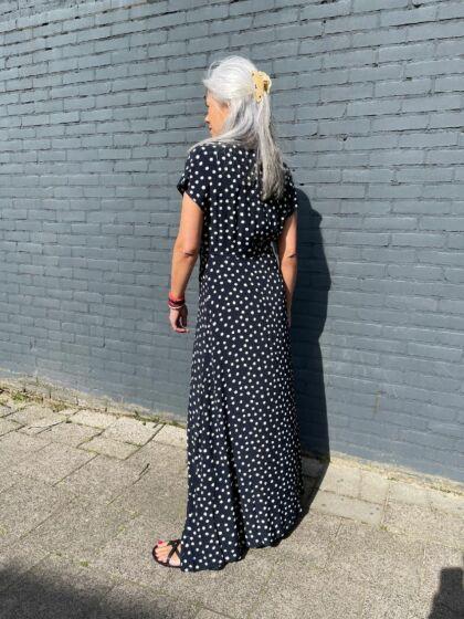 Samsoe Samsoe Valerie Long Dress Blue